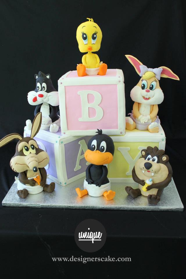 ... Baby Shower Cake; Looney Toons ...