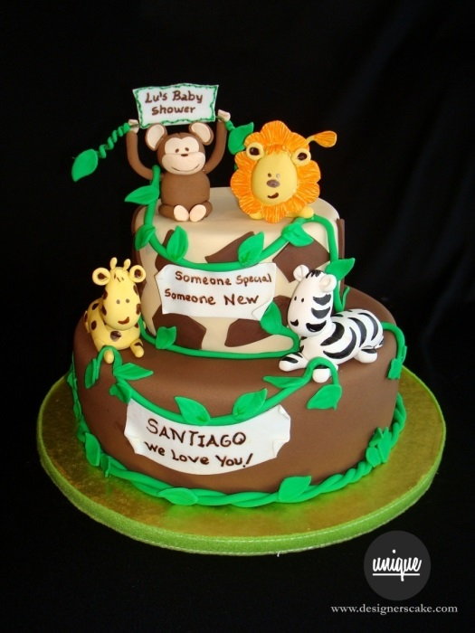safary-cake Best Cake Flavors For Baby Shower