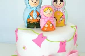 Doll - Baby Shower Cake