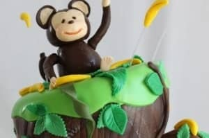Monkey - Birthday Cakes
