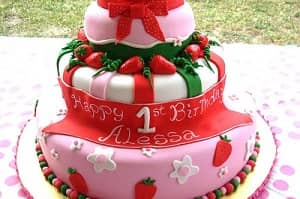 Strawberry - Birthday Cakes