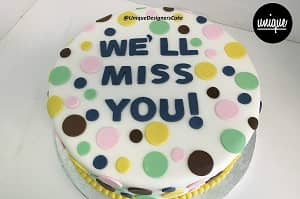 Miss you - Last Minute Cakes