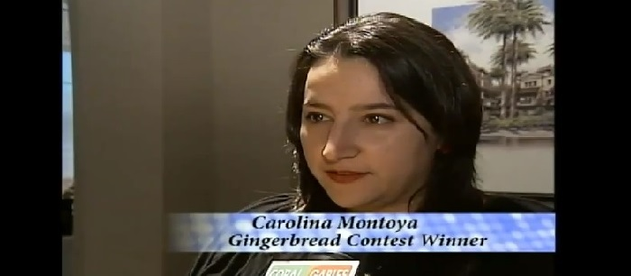 Gingerbread contest awards 2008
