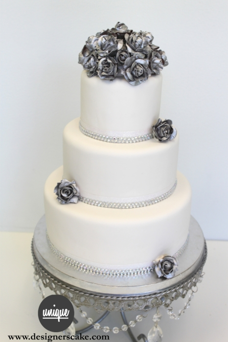 Silver Wedding Anniversary Cakes Gallery