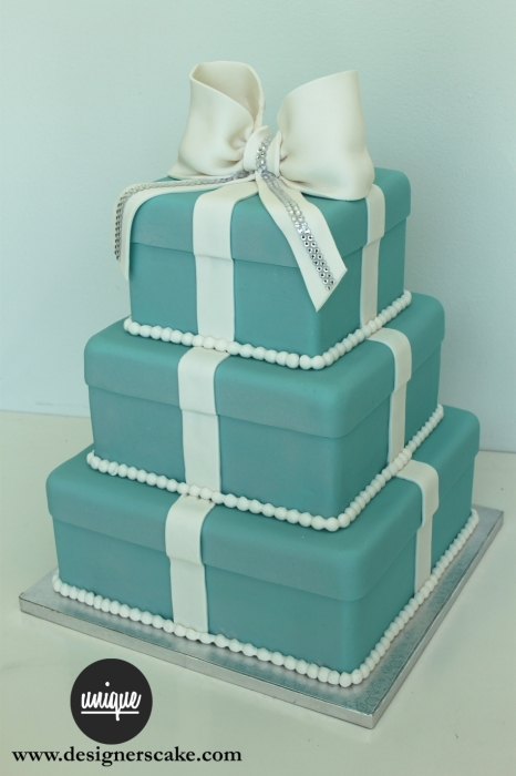 Tier Tiffany Box Cake